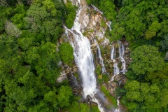 Wachirathan Waterfall - Doi Inthanon National Park, Thailand