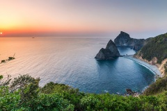 The Senganmon Rocks - Matsuzaki, Japan