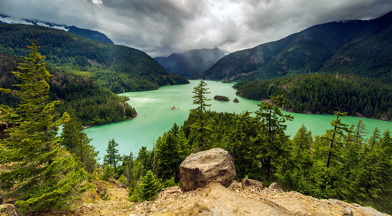 Diablo Lake - North Cascades National Park, Washington, USA