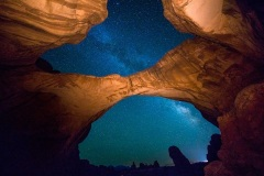 Double Arch - Arches National Park, Utah, USA