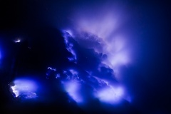 Blue Fires - Ijen Crater - Java, Indonesia