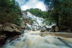 Wachirathan Falls - Doi Inthanon National Park, Thailand
