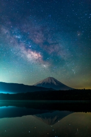 Lake Saiko - Fuji Five Lakes, Japan