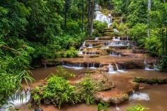 Pha Charoen Waterfall - Namtok Pha Charoen National Park, Tak, Thailand