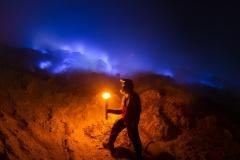 Blue Fires - Ijen Crater - Java, Indonesia
