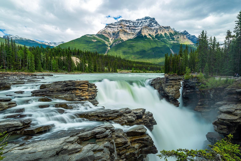 Athabascua Falls - Jasper National Park, Canada