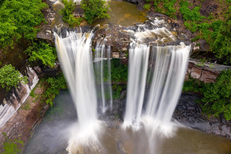 Huai Luang Waterfall - Phu Chong Na Yoi National Park, Thailand