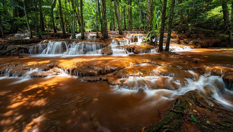 Pa Wai Waterfall - Tak, Thailand
