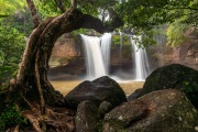 Haew Suwat waterfall, Khao Yai National Park, Thailand
