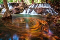 Huay Mae Kamin Falls - Kanchanaburi, Thailand